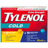 Tylenol Extra Strength Daytime/ Nighttime Relief - 10 Daytime/ 10 Nighttime Tablets - Simpsons Pharmacy