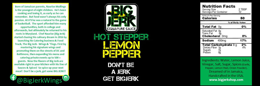 Hot-Stepper Lemon Pepper - Sauce