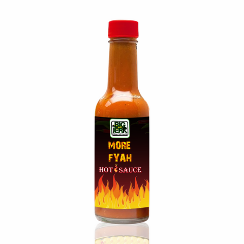 Image of BigJerk's MORE FYAH Hot Sauce