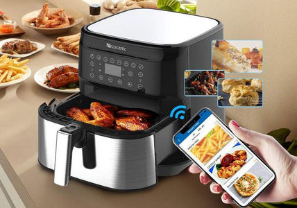 BigJerk Smart Air Fryer, App & Alexa Control, XL 5. 8QT, 1700 Watt