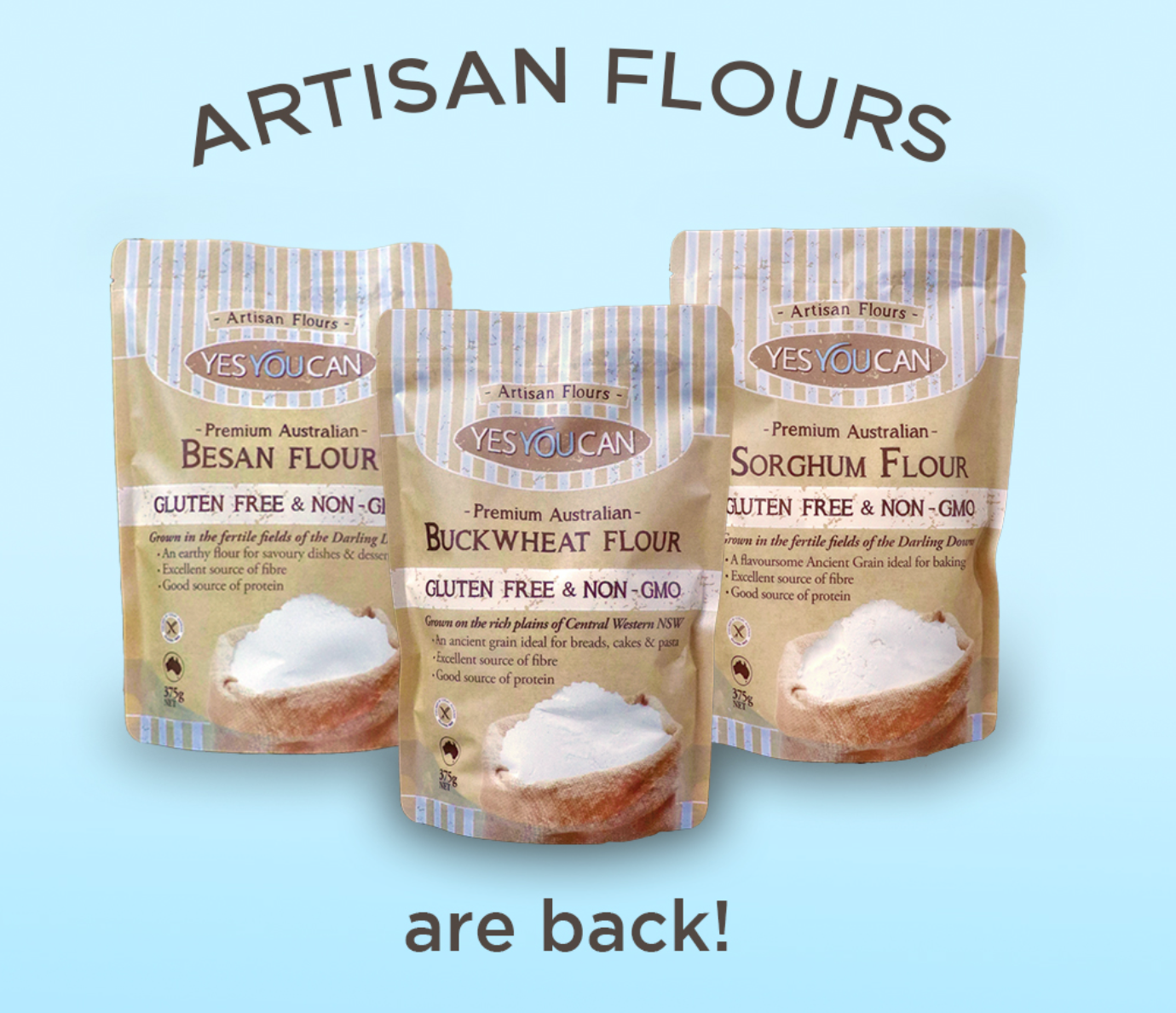 Return of Australian flours announcement