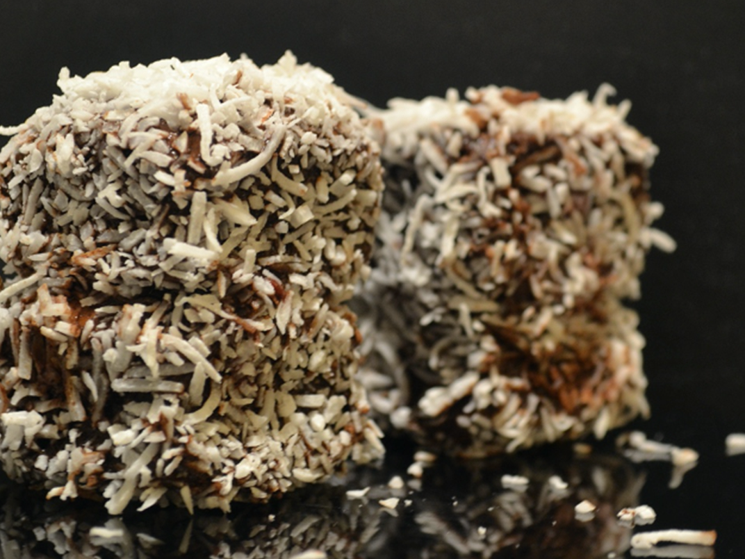 Gluten Free Happy Raspberry Lamingtons