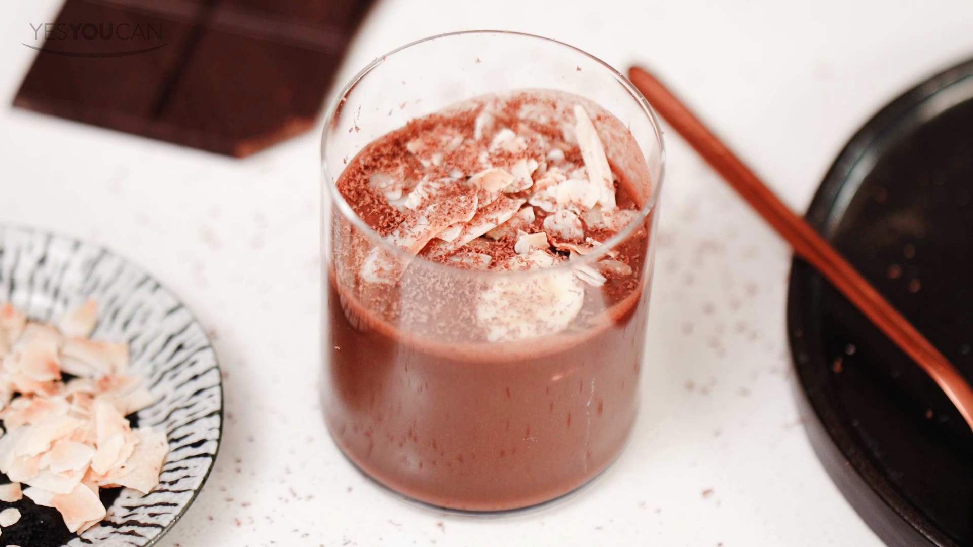 Cacao and Macadamia Protein Shake Mix