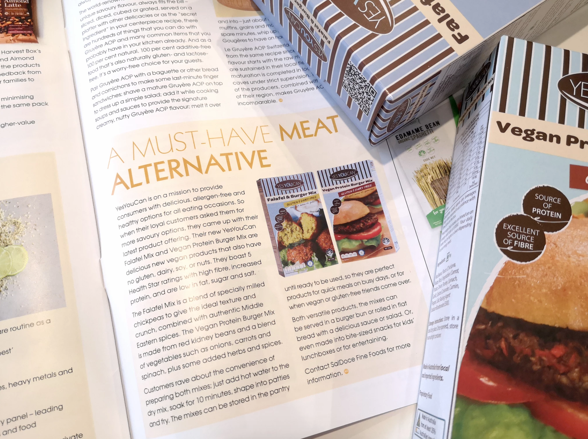 australian retailer burgers vegan yesyoucan gluten free october 2019 feature saldoce fine foods baking food