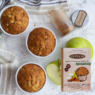 Apple and Cinnamon Muffin Mix