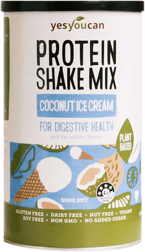 Coconut Ice Cream Protein Shake Mix