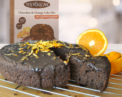 Chocolate & Orange Zest Cake Mix
