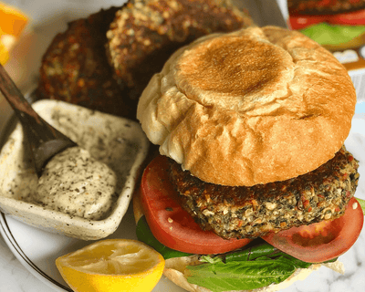 Vegan Protein Burger Mix