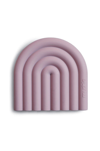 "Mushie Beißring ""Teether Rainbow Mauve"" - mushie 
