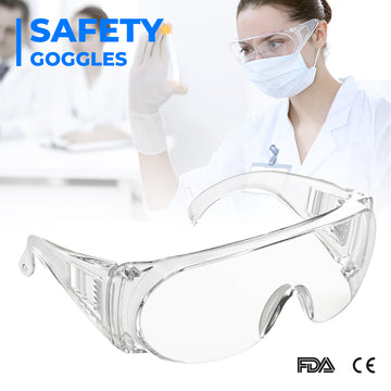 Foldable Anti-fog Goggles Wide Vision Splash Goggles