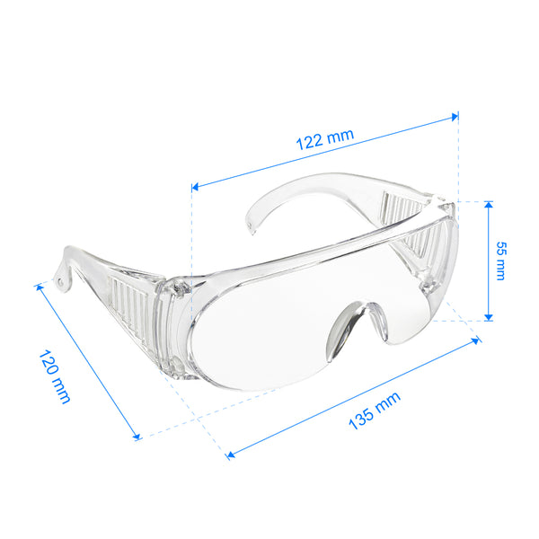 [Foldable Anti-fog Goggles Wide Vision Splash Goggles] - [DoubleTrusty]