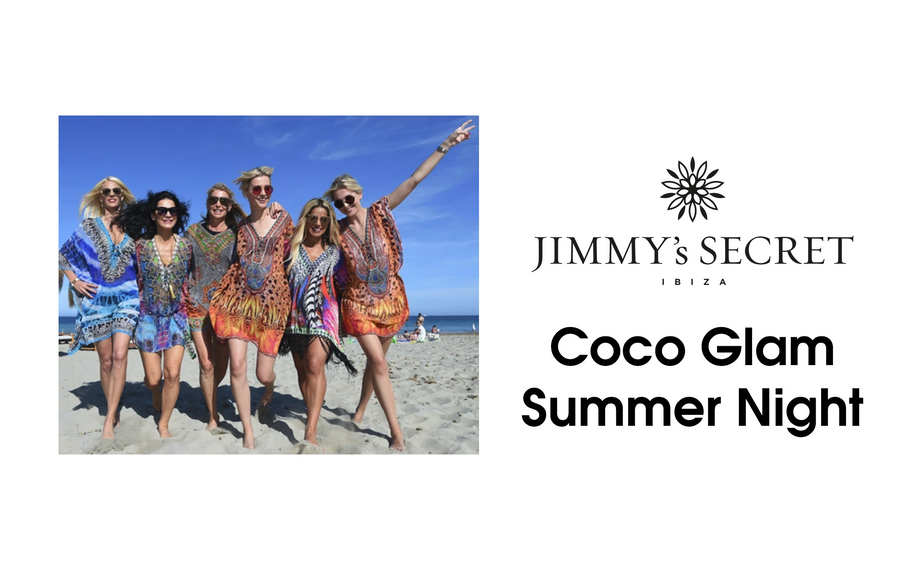 COCO GLAM SUMMER NIGHT<br>DRESSED BY JIMMYS SECRET