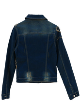 Load image into Gallery viewer, Jeansjacket Glamrock with Cristal-Stones
