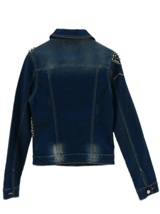 Jeansjacket Glamrock with Cristal-Stones