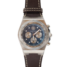 Load image into Gallery viewer, Jimmys Secret Silver Blue Chronograph Detail