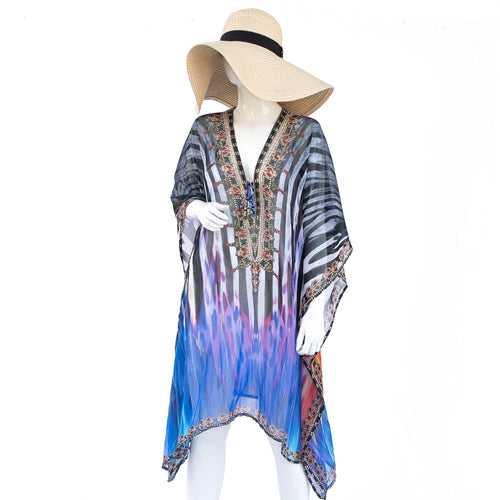 Jimmys Secret Tunika Kaftan Ibiza Fashion front
