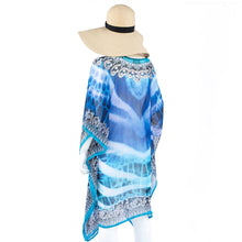 Laden Sie das Bild in den Galerie-Viewer, Jimmys Secret Tunika Kaftan Ibiza Fashion back