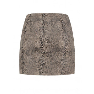 Skirt Miley with Snake Print