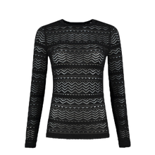 Load image into Gallery viewer, Knitted Lace-Pullover Jade