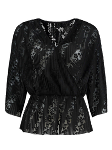 Top Paris Lace Black