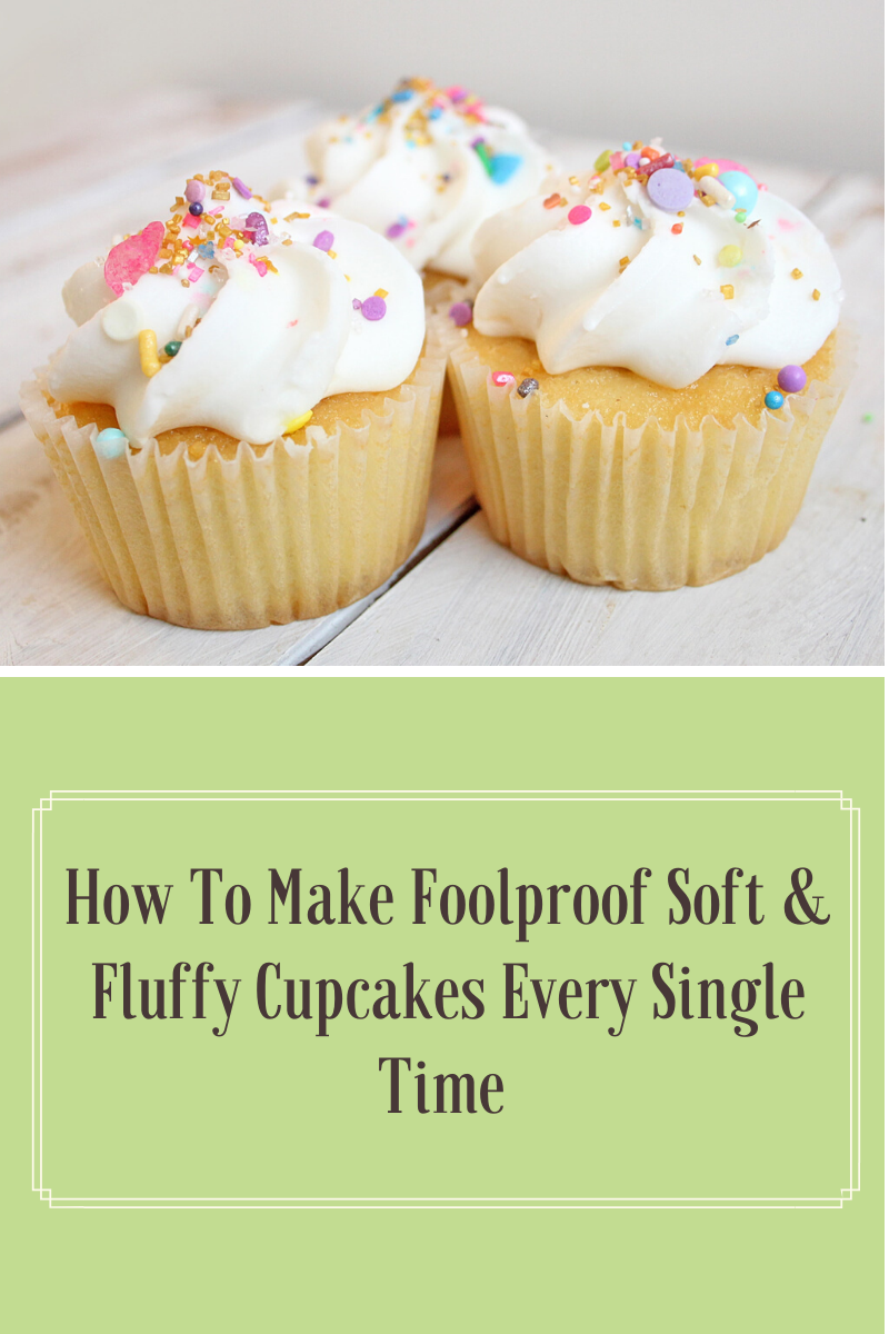 How To Make Fool Proof Soft & Fluffy Cupcakes Every Single Time