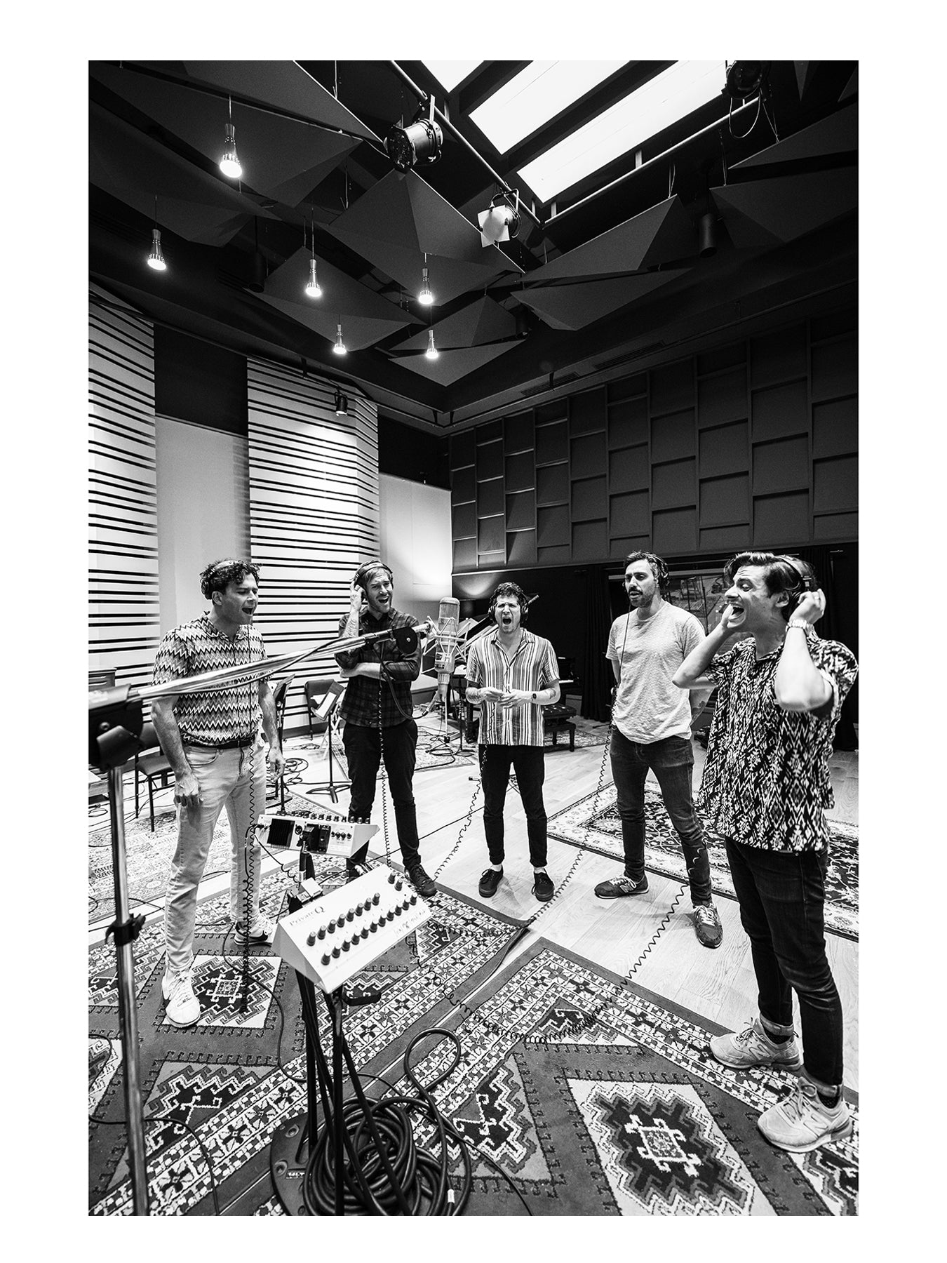 Arkells in Studio, by Nathan Nash