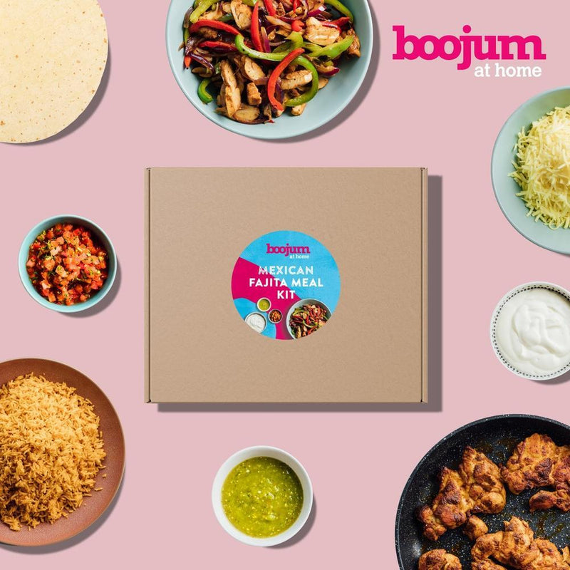 Boojum Mexican Fajita Meal Kit (Serves 4) delivery 14th/15th/16th Jan-Fresh The Good Food Market