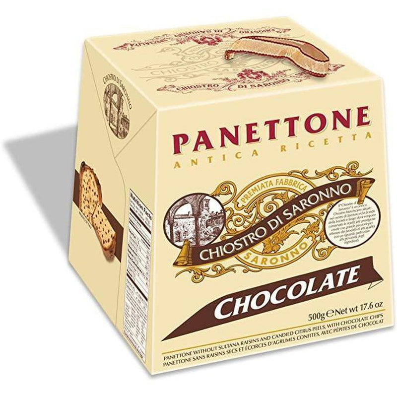 Chiostro Di Saronno Panettone Chocolate 500g-Fresh The Good Food Market