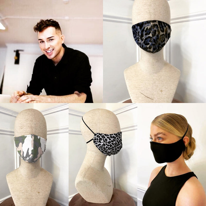 Eamon McGill Designed Face Coverings Mask (Pre-Order For May 26th)-Fresh The Good Food Market