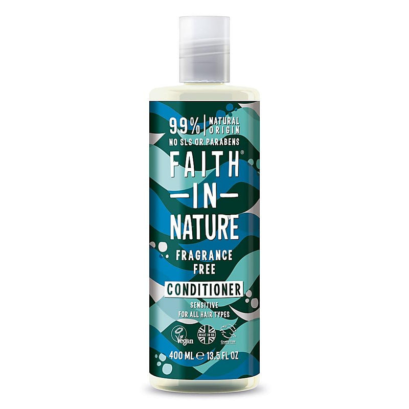 Faith In Nature Fragrance Free Conditioner 400ml-Fresh The Good Food Market