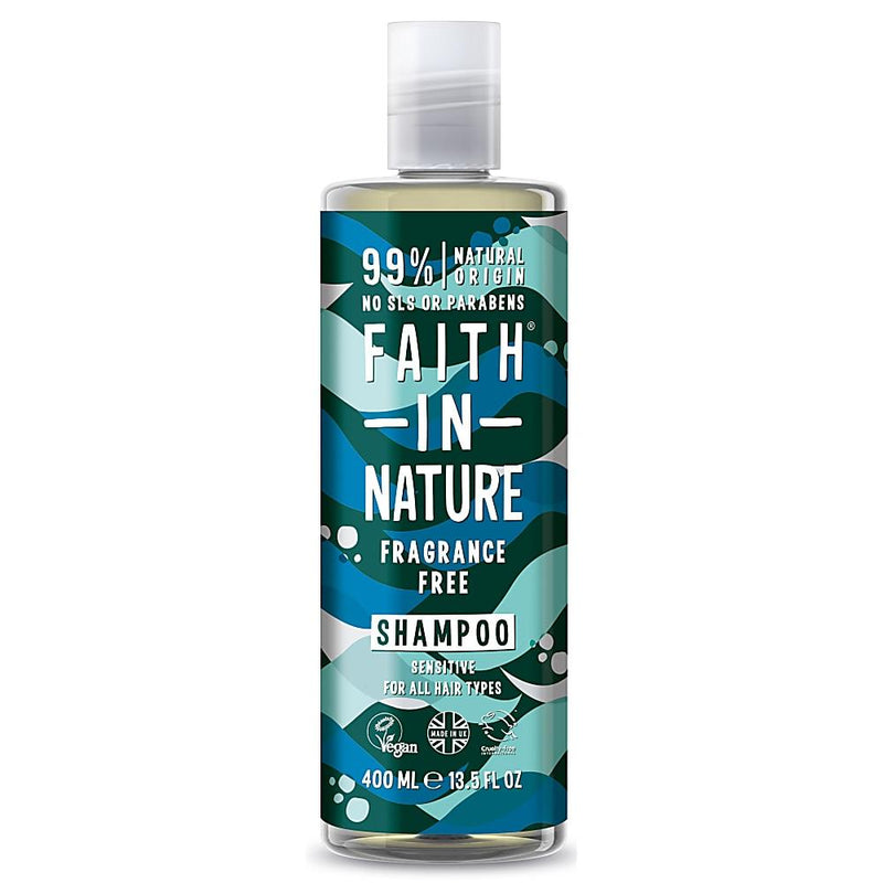 Faith In Nature Fragrance Free Shampoo 400ml-Fresh The Good Food Market