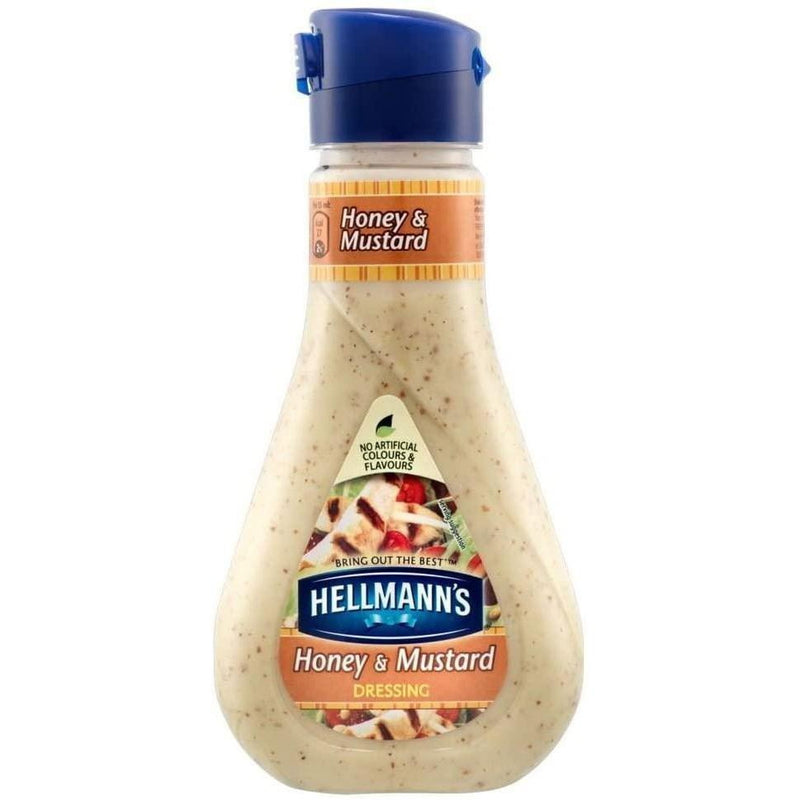 Hellmann's Honey Mustard Dressing 210g-Fresh The Good Food Market