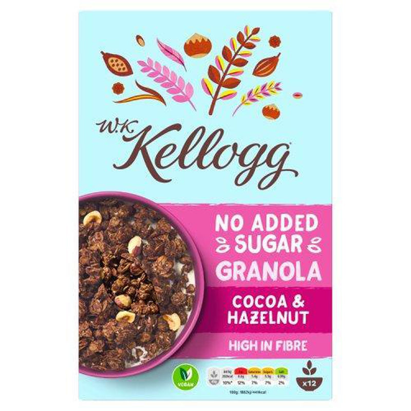 Kelloggs Granola Cocao & Hazelnut 550g NAS-Fresh The Good Food Market