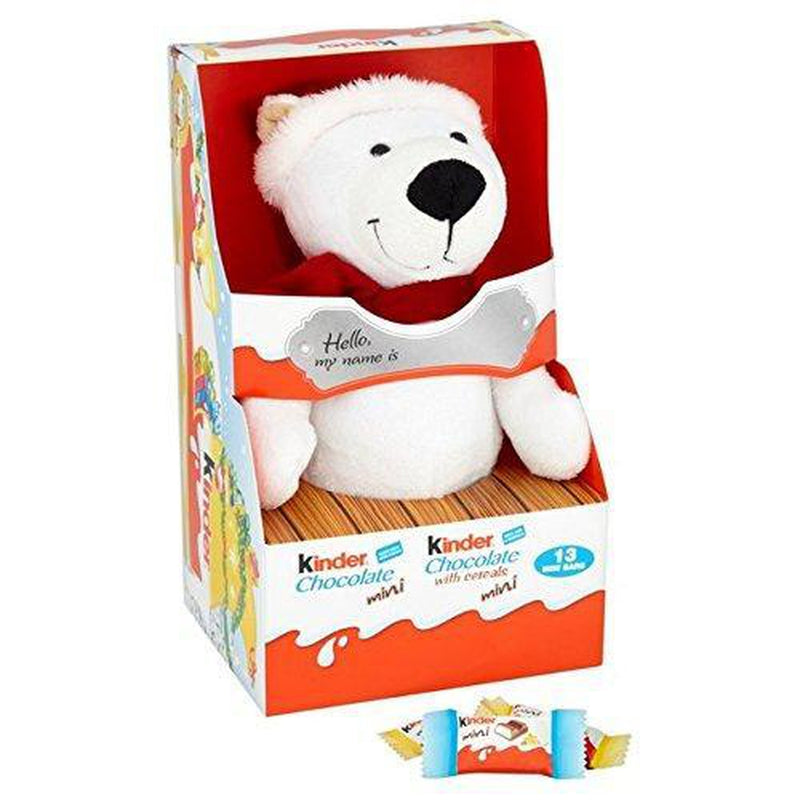 Kinder Mini Chocs & Cuddly Toy 73g-Fresh The Good Food Market