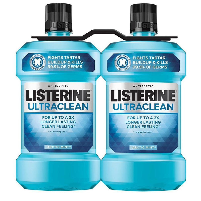 Listerine Mouthwash 2PK €4-Fresh The Good Food Market