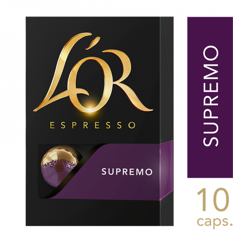 L'Or Espresso Capsules Intensity 10 10pk-Fresh The Good Food Market