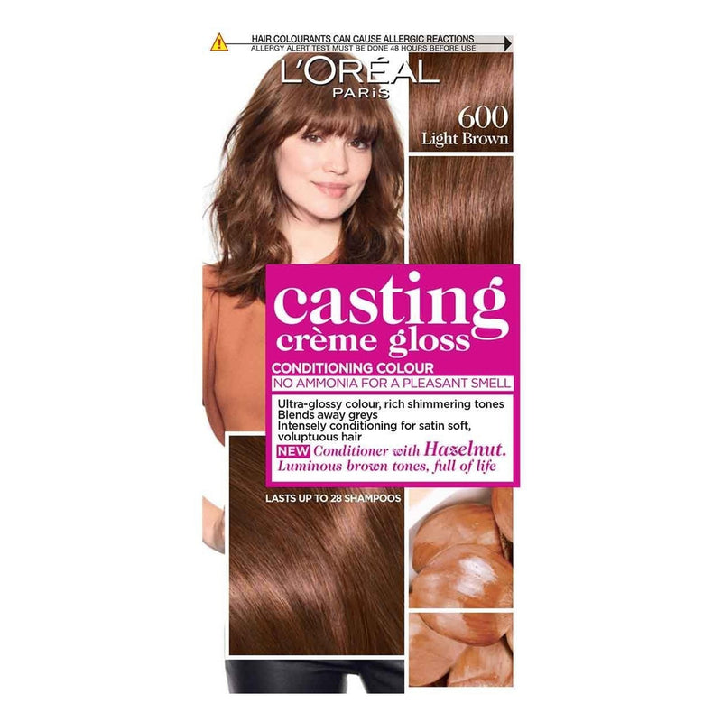 L'Oreal Castings Light Brown 600 160ml-Fresh The Good Food Market