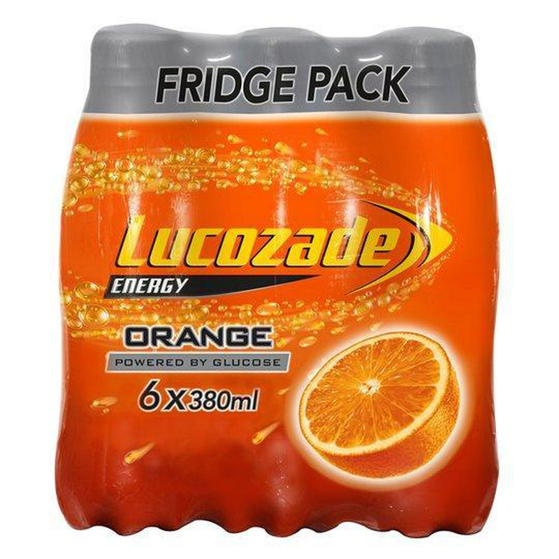 Lucozade Orange 6x330ml Fridge Pack-Fresh The Good Food Market