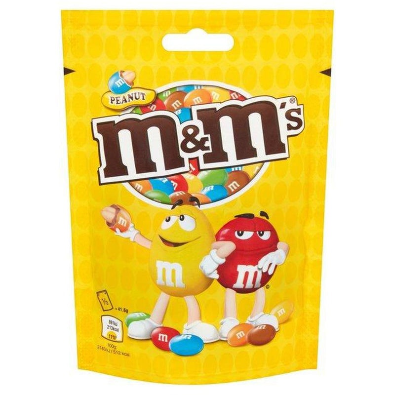 M&M's Peanut Pouch 125g-Fresh The Good Food Market