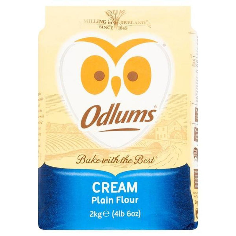 Odlums Cream Flour 2KG-Fresh The Good Food Market