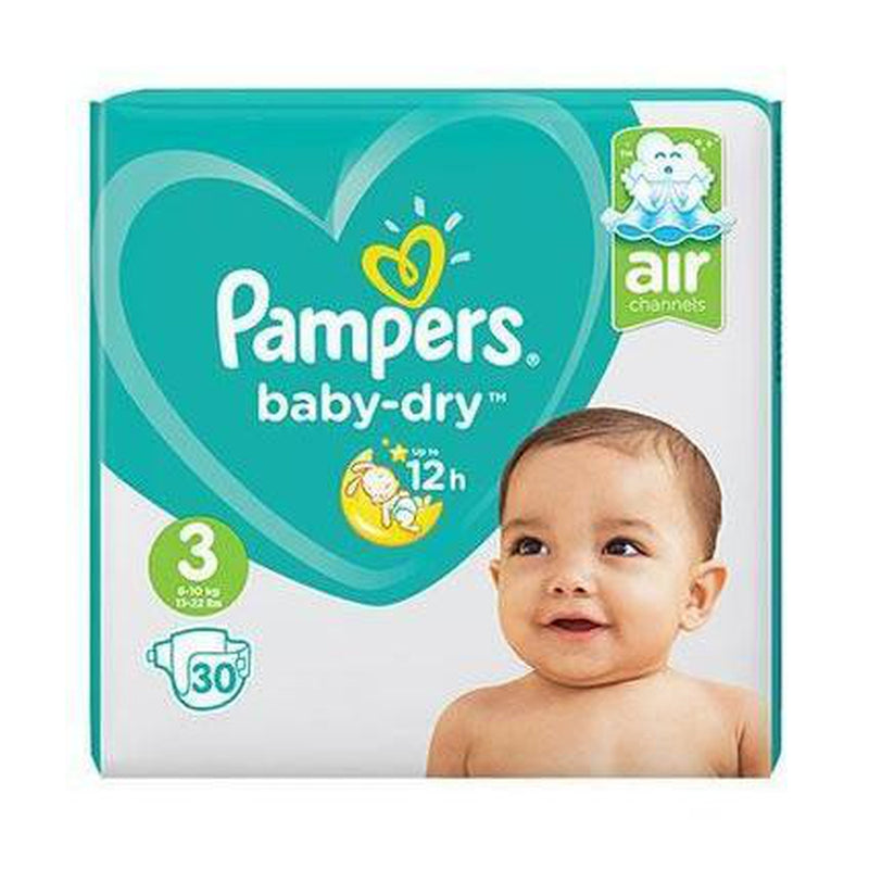 Pampers Baby Dry Size 3 30pk-Fresh The Good Food Market