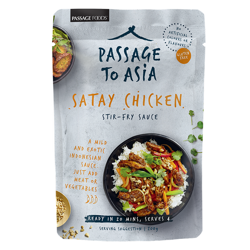 Passage To Asia Satay Stir In 200g-Fresh The Good Food Market