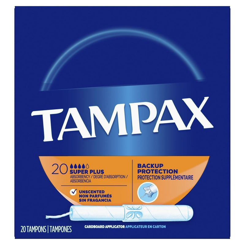 Tampax Super Plus 20 Pack-Fresh The Good Food Market