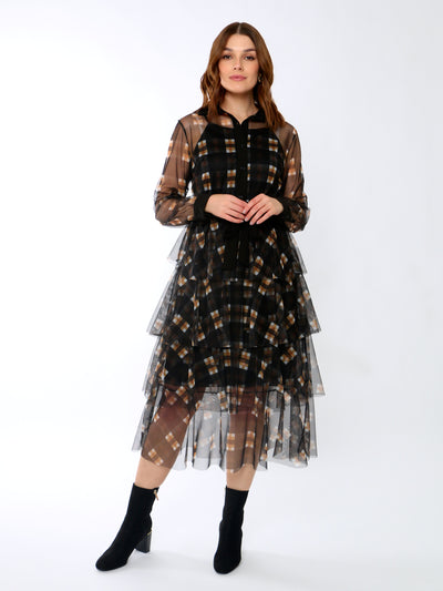 Jenny Wren Layered Tulle Dress