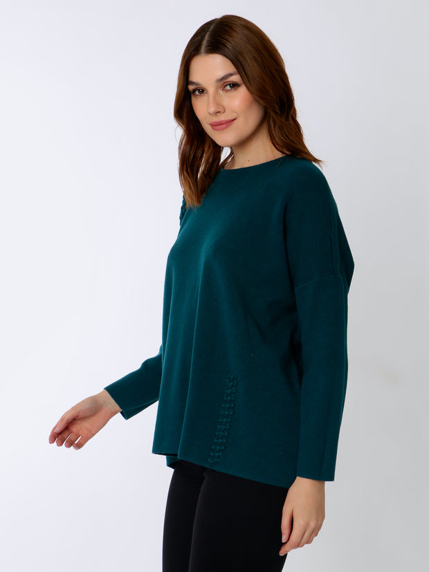 Jenny Wren Jersey With Stitch Detail
