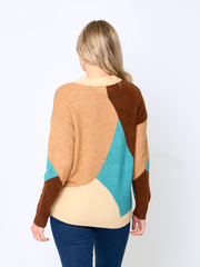 Jenny Wren Graphic Design Jumper