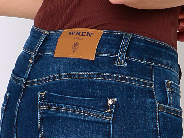 WREN Jeans Slim Fit Dark Blue - Wren Clothing