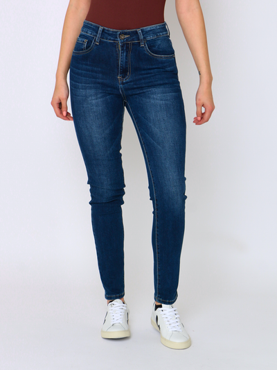 WREN Jeans Regular Fit Dark Blue - WrenClothing.ie