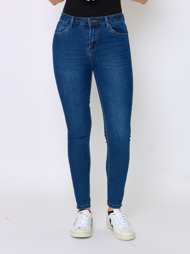 WREN Jeans Heritage Denim In Blue - Wren Clothing