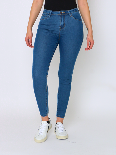 WREN Jeans Push-Up In Indigo - WrenClothing.ie
